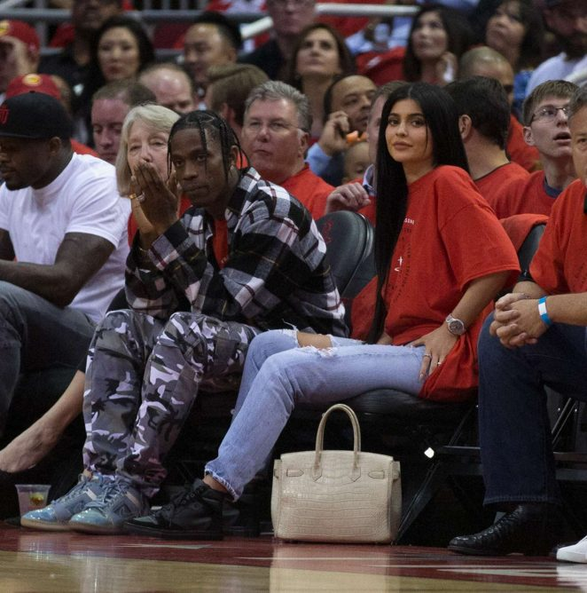 Kylie Jenner - Oklahoma City Thunder v Houston Rockets Game Five in Houston