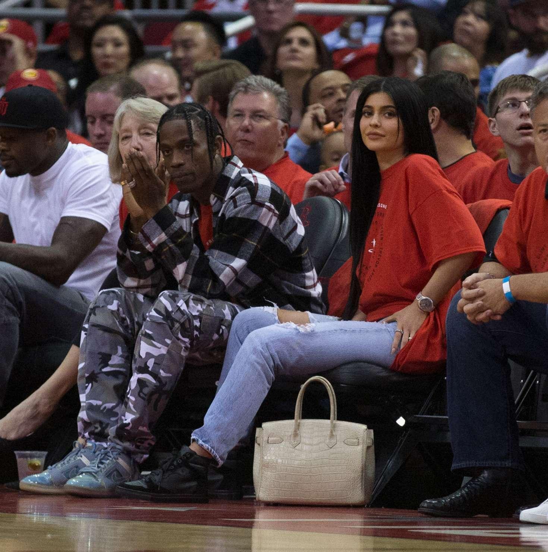 Kylie Jenner - Oklahoma City Thunder v Houston Rockets Game Five in Houston