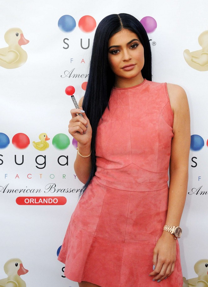 Kylie Jenner – Opening of The Sugar Factory in Orlando