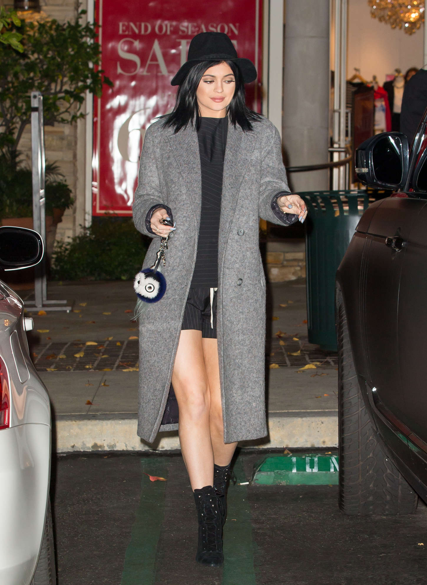 Kylie Jenner - Out and about in Calabasas