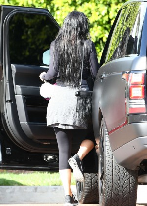 Kylie Jenner in Tight Leggings -14