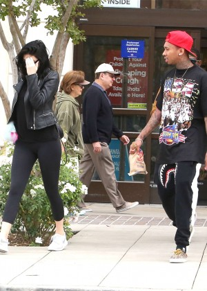 Kylie Jenner in Tight Leggings -26