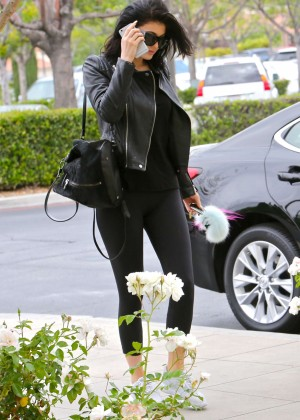 Kylie Jenner in Tight Leggings -27