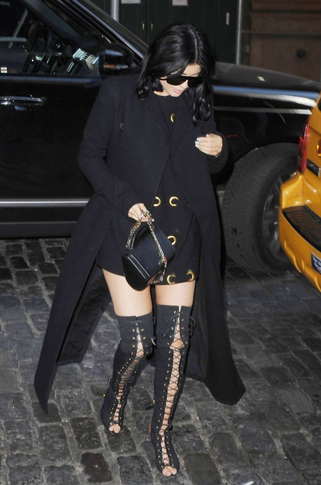 Kylie Jenner - Out and about in Soho
