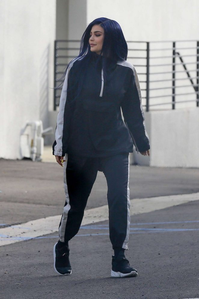 Kylie Jenner: Out And About In West Hollywood -03