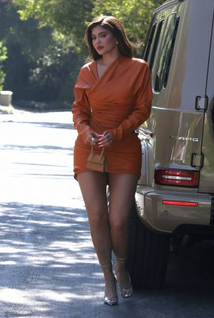 Kylie Jenner - Out for lunch in Beverly Hils
