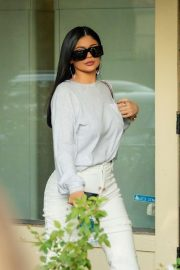 Kylie Jenner - Out for lunch with Corey Gamble at Blue Table in Calabasas