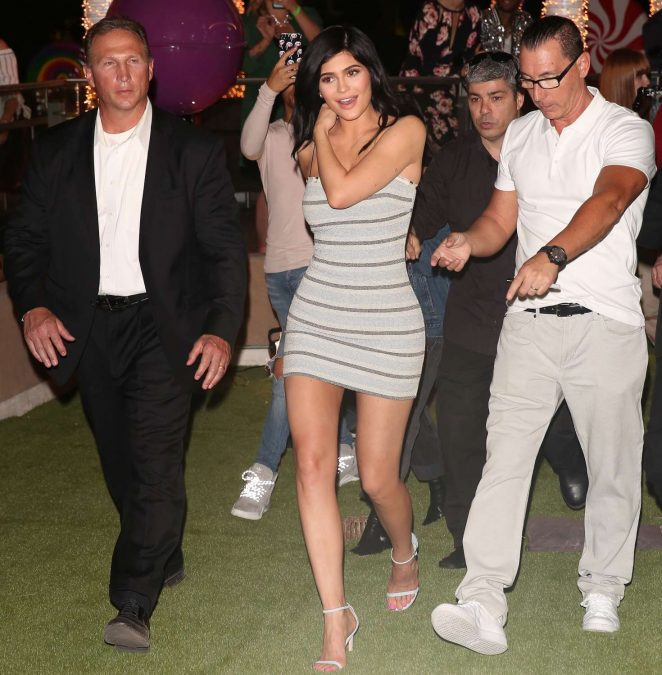 Kylie Jenner out in Las Vegas