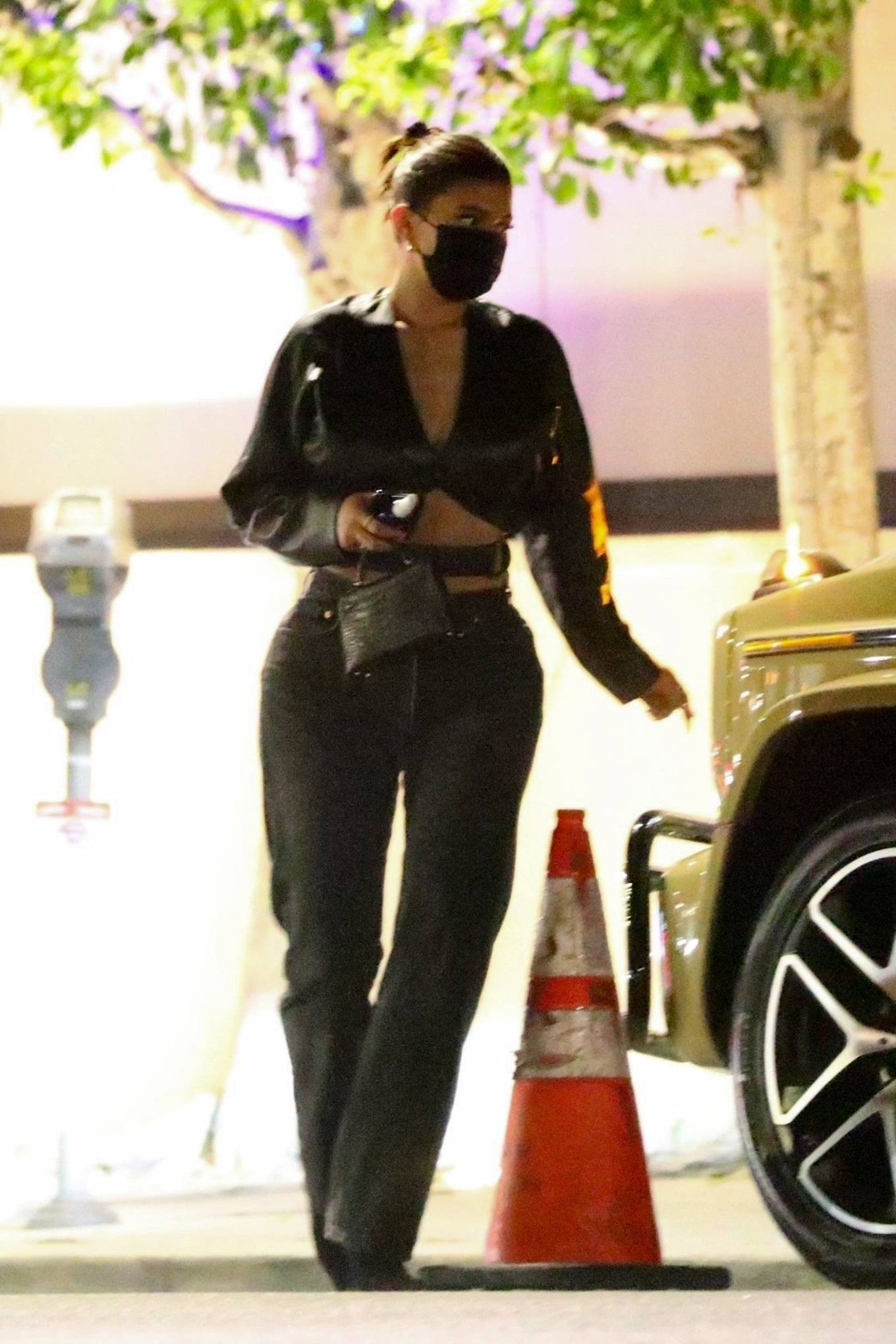 Kylie Jenner - Out with her friend Yris Palmer at Nobu in Los Angeles
