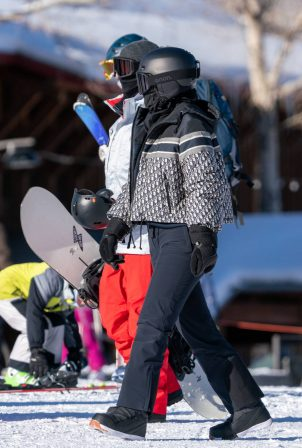 Kylie Jenner - Pictured at Buttermilk Ski Area in Aspen