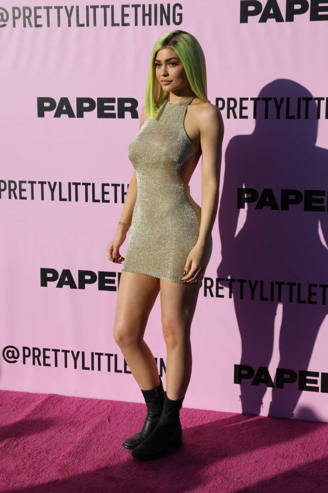 Kylie Jenner – Pretty Little Thing x Paper Magazine Event at 2017 Coachella in Indio