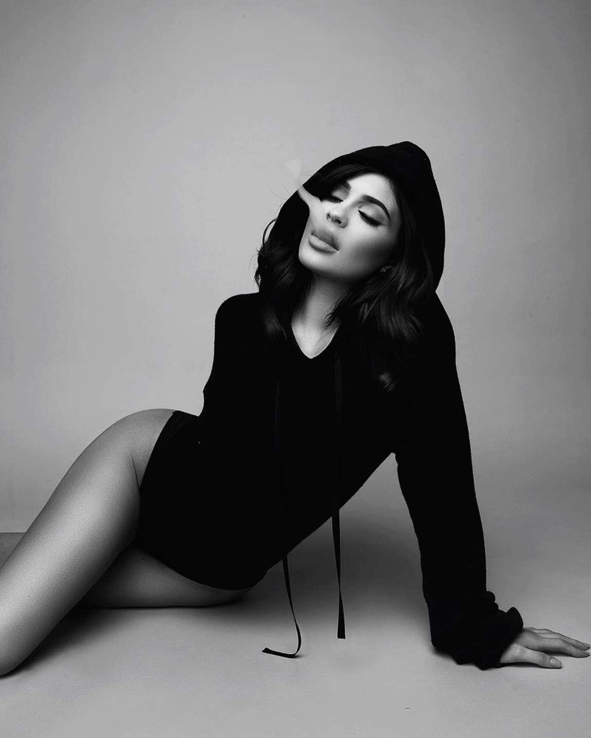 Kylie Jenner, modelo de 18 años