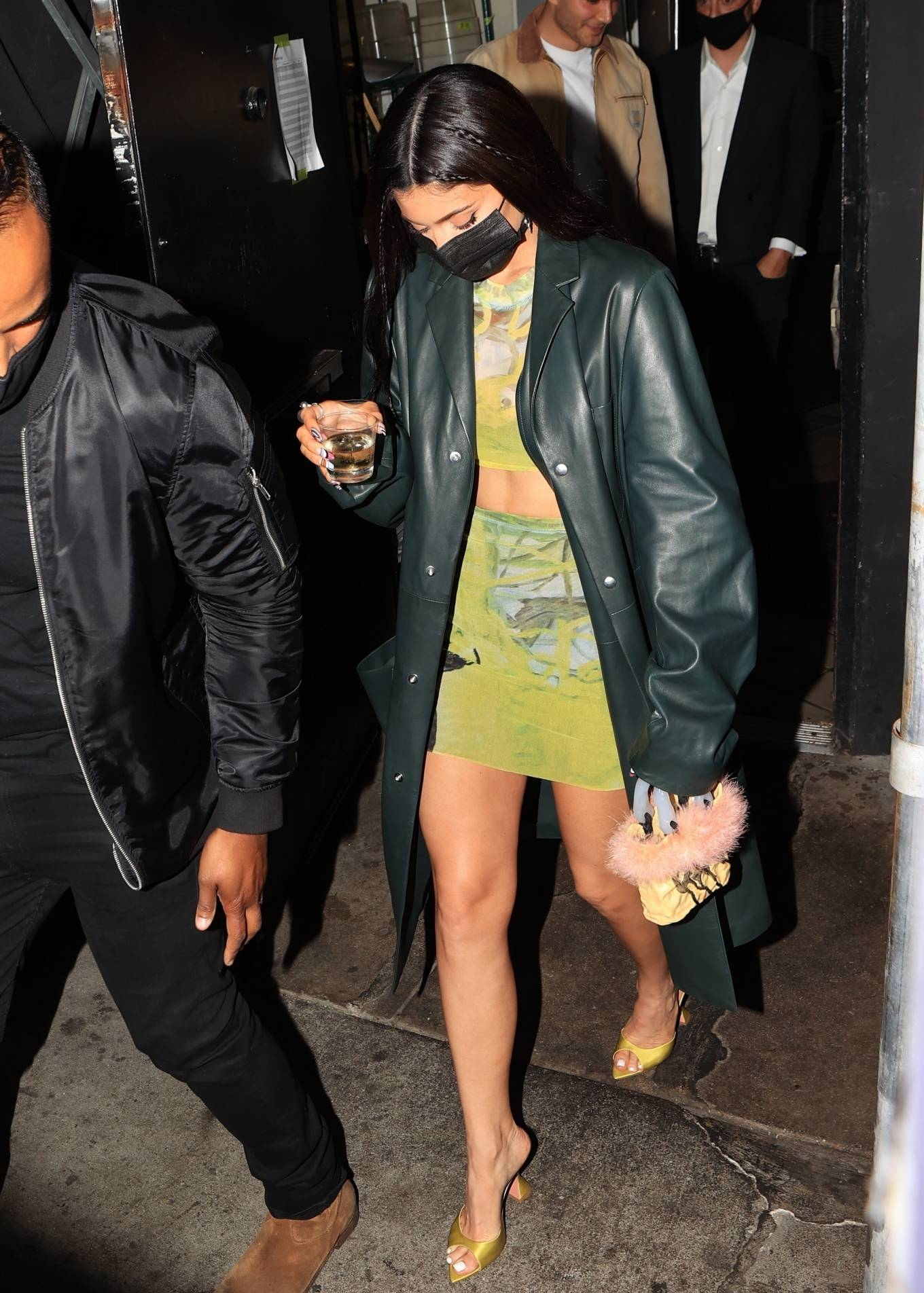 Kylie Jenner 2021 : Kylie Jenner – Seen at The Nice Guy in Los Angeles-06