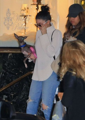 Kylie Jenner - Shopping at Saks in Beverly Hills