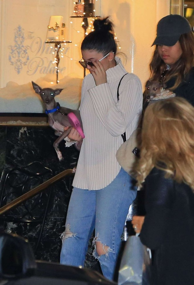 Kylie Jenner – Shopping at Saks in Beverly Hills