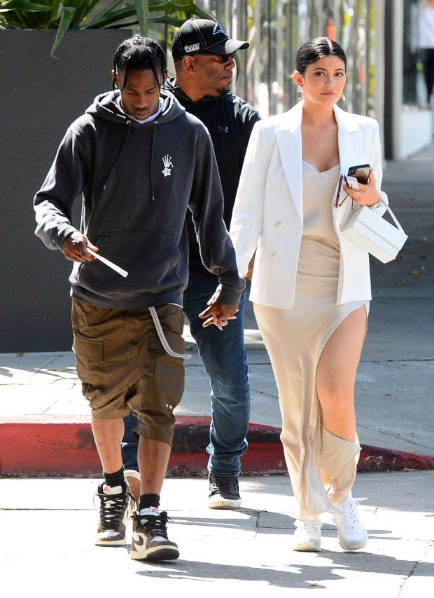 Kylie Jenner: Shopping in West Hollywood -01