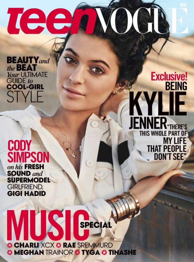 Kylie Jenner - Teen Vogue Magazine (May 2015)