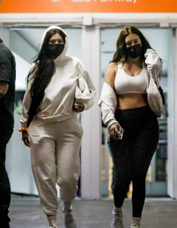 Kylie Jenner - With Anastasia Karanikolaou leaving a skincare clinic in Beverly Hills