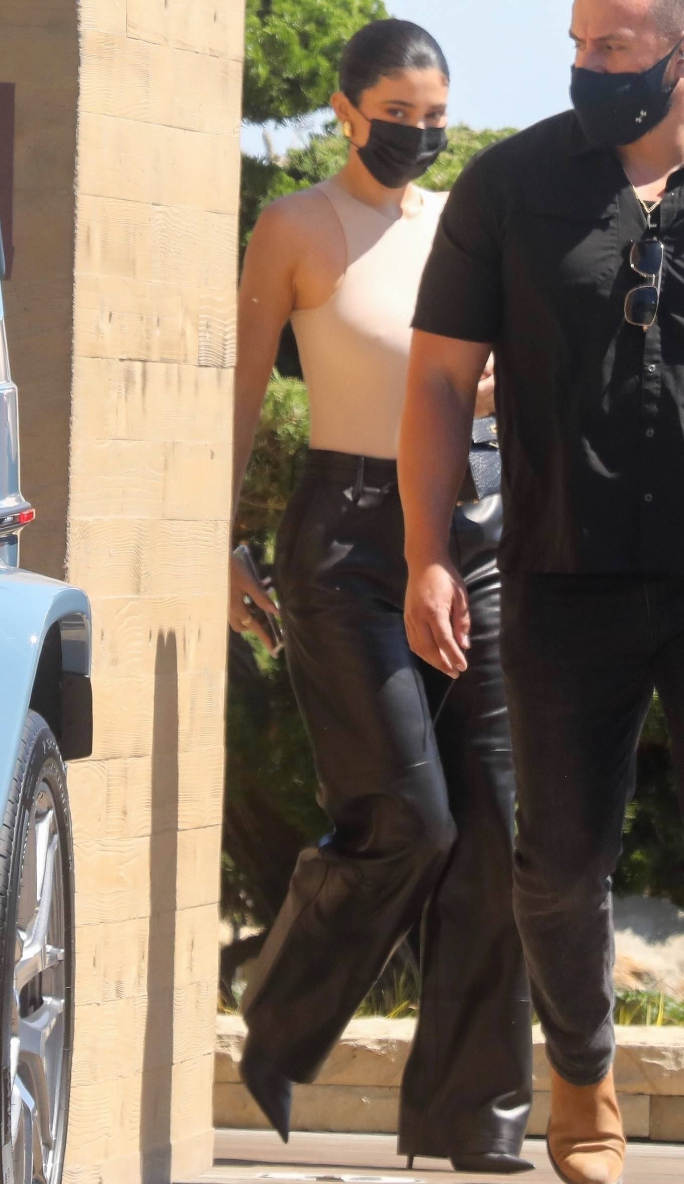 Kylie Jenner - With Kris Jenner spotted after lunch at Nobu in Malibu