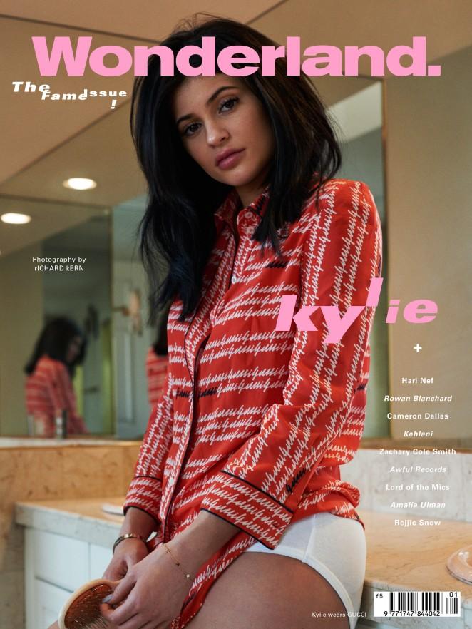 Kylie Jenner - Wonderland Magazine's Fame Cover (Spring 2016)