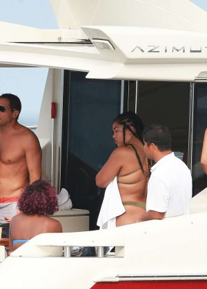 Kylie, Kendall Jenner and Hailey Baldwin: Bikini Candids at Yacht in Mexico-14