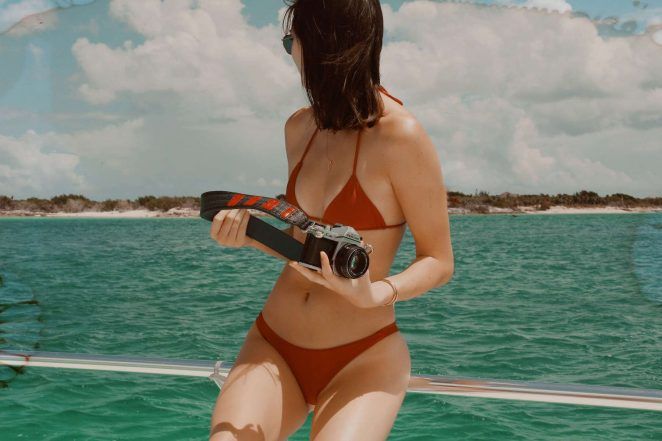 Kylie, Kendall Jenner, Hailey Baldwin and Bella Hadid: In Bikini for Renell Medrano photo diary-27