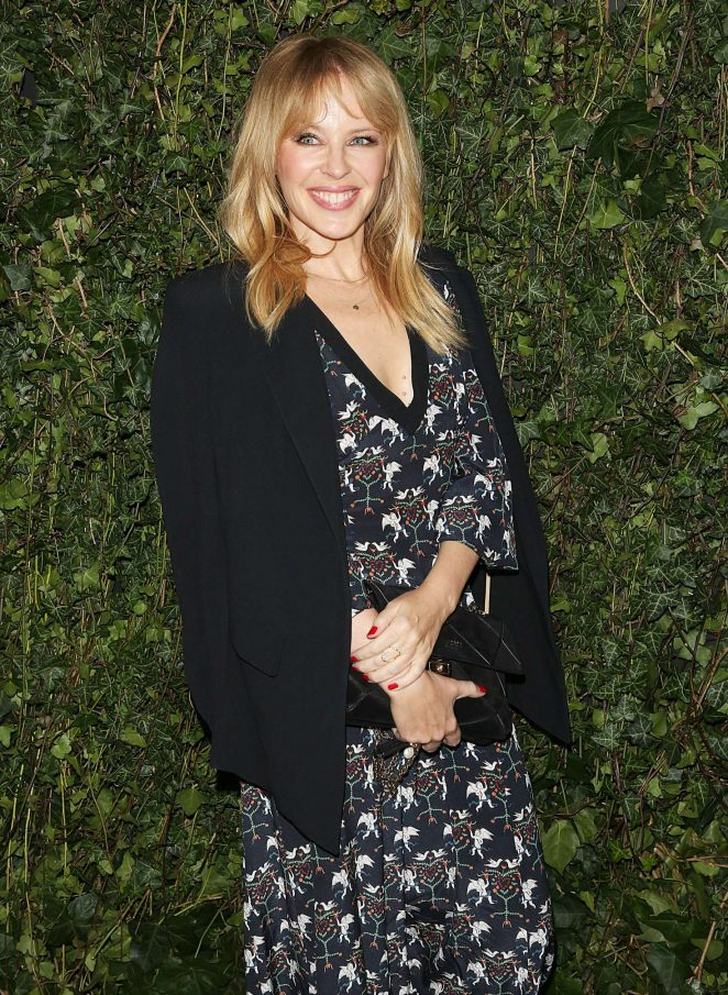 Kylie Minogue - 2018 Charles Finch x Chanel Pre-Bafta Party in London