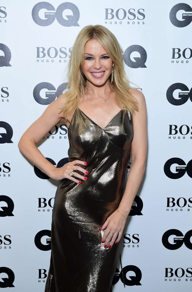 Kylie Minogue - 2018 GQ Men of the Year Awards in London