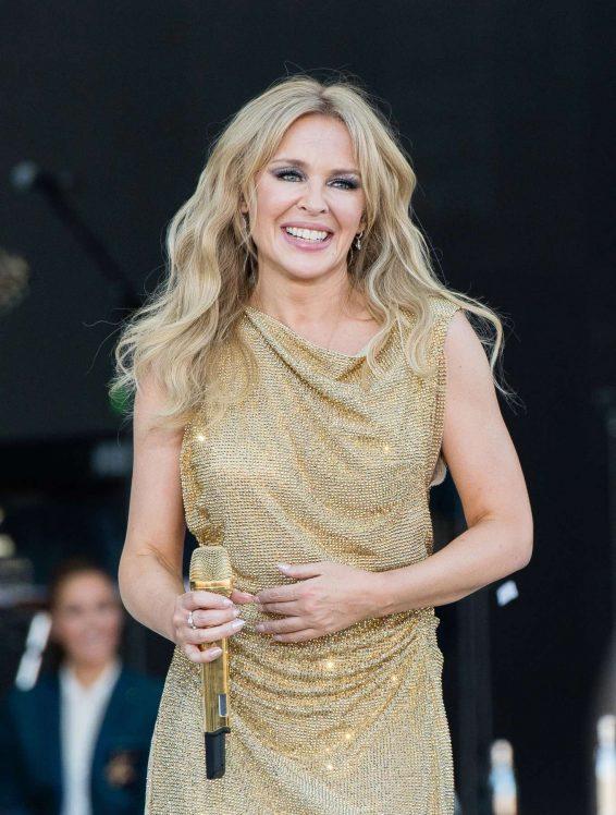 Kylie Minogue – 2019 Glastonbury Festival Day 5 in Pilton-10