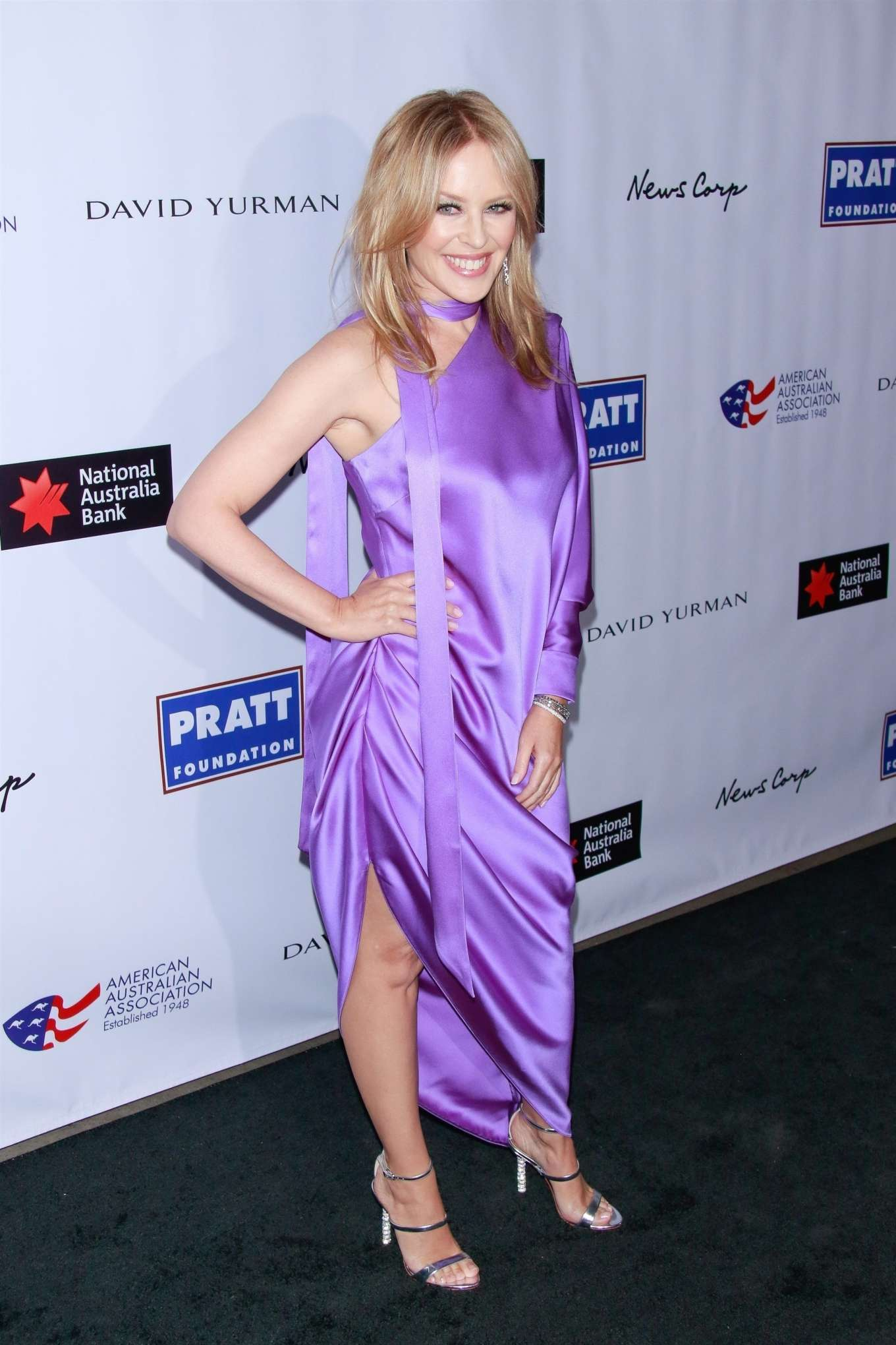 Kylie Minogue - 2020 American Australian Association Arts Awards Dinner in NY