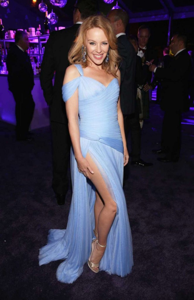 Kylie Minogue - Oscars 2015 - Elton John AIDS Foundation Academy Awards Party