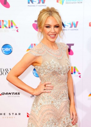 Kylie Minogue - 2015 ARIA Awards in Sydney