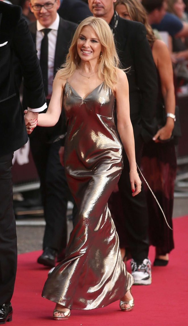 Kylie Minogue - Arriving at the GQ Men of the Year Awards in London