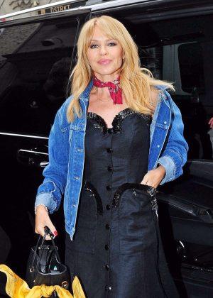 Kylie Minogue at Cafe de Paris in London