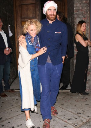 Kylie Minogue at Lady Gaga's 30th Birthday Party in LA