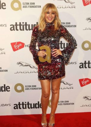Kylie Minogue - Attitude Magazine Pride Awards 2017 in London