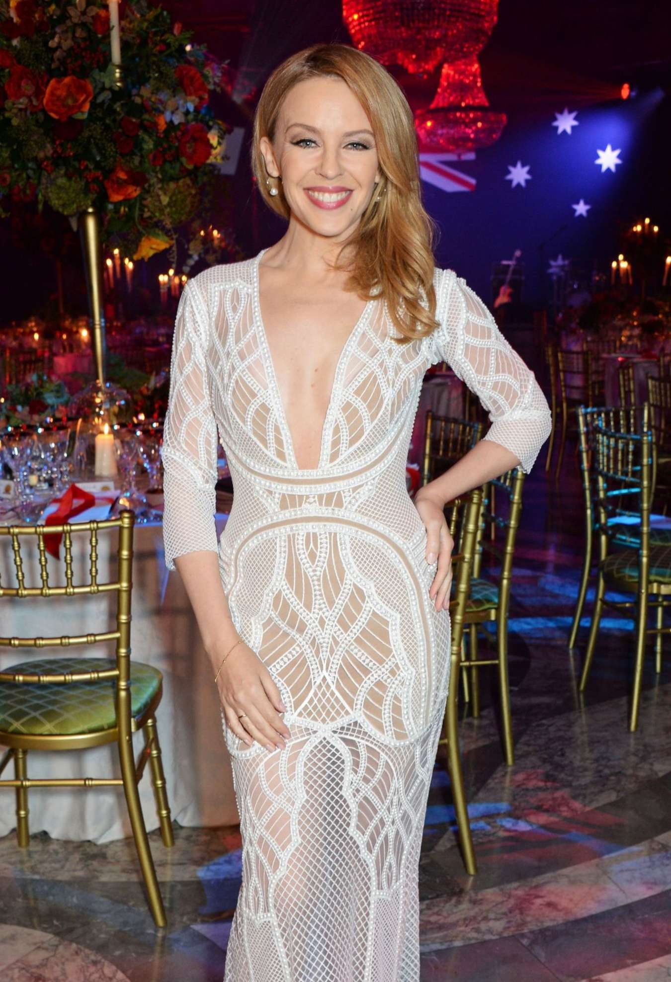 Kylie Minogue Australia Day Gala Dinner In London