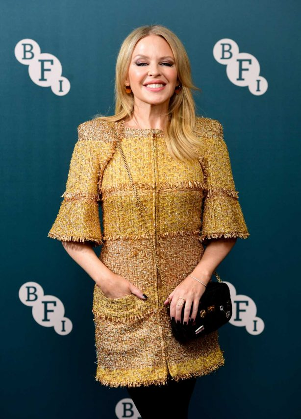 Kylie Minogue - BFI Fellowship 2020 in London