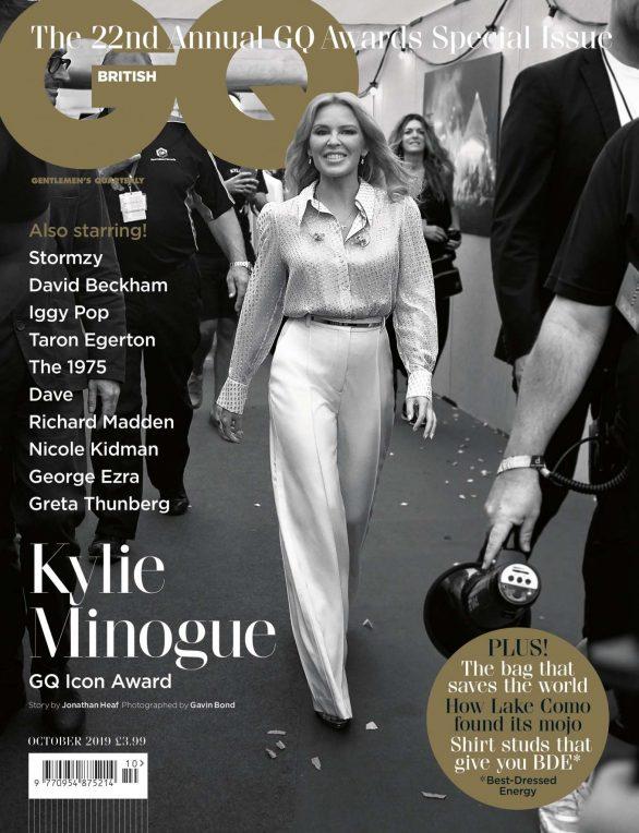 Kylie Minogue - British GQ Magazine - October 2019