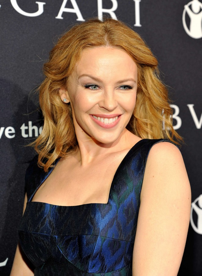 Kylie Minogue - BVLGARI Save The Children STOP THINK GIVE Pre-Oscar Event in Beverly
