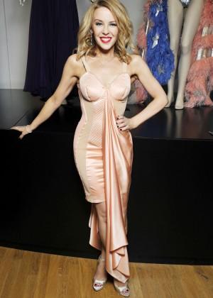 "Kylie Minogue - ""Jean Paul Gaultier Exhibition"" Photocall in Paris"
