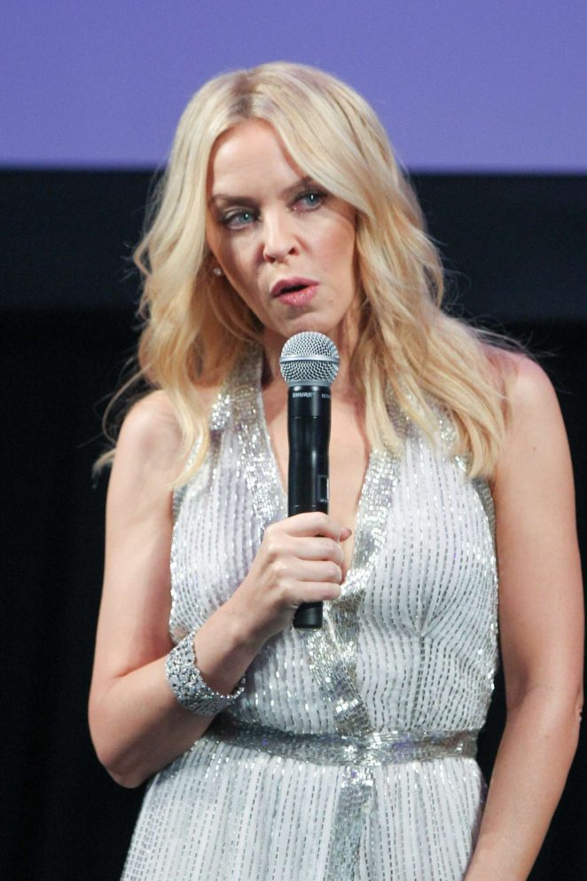 Kylie Minogue: Kylie On Stage Launch -22