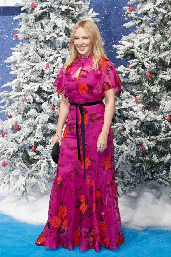 Kylie Minogue 2019 : Kylie Minogue – Last Christmas Premiere in London-02