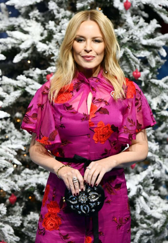 Kylie Minogue 2019 : Kylie Minogue – Last Christmas Premiere in London-04