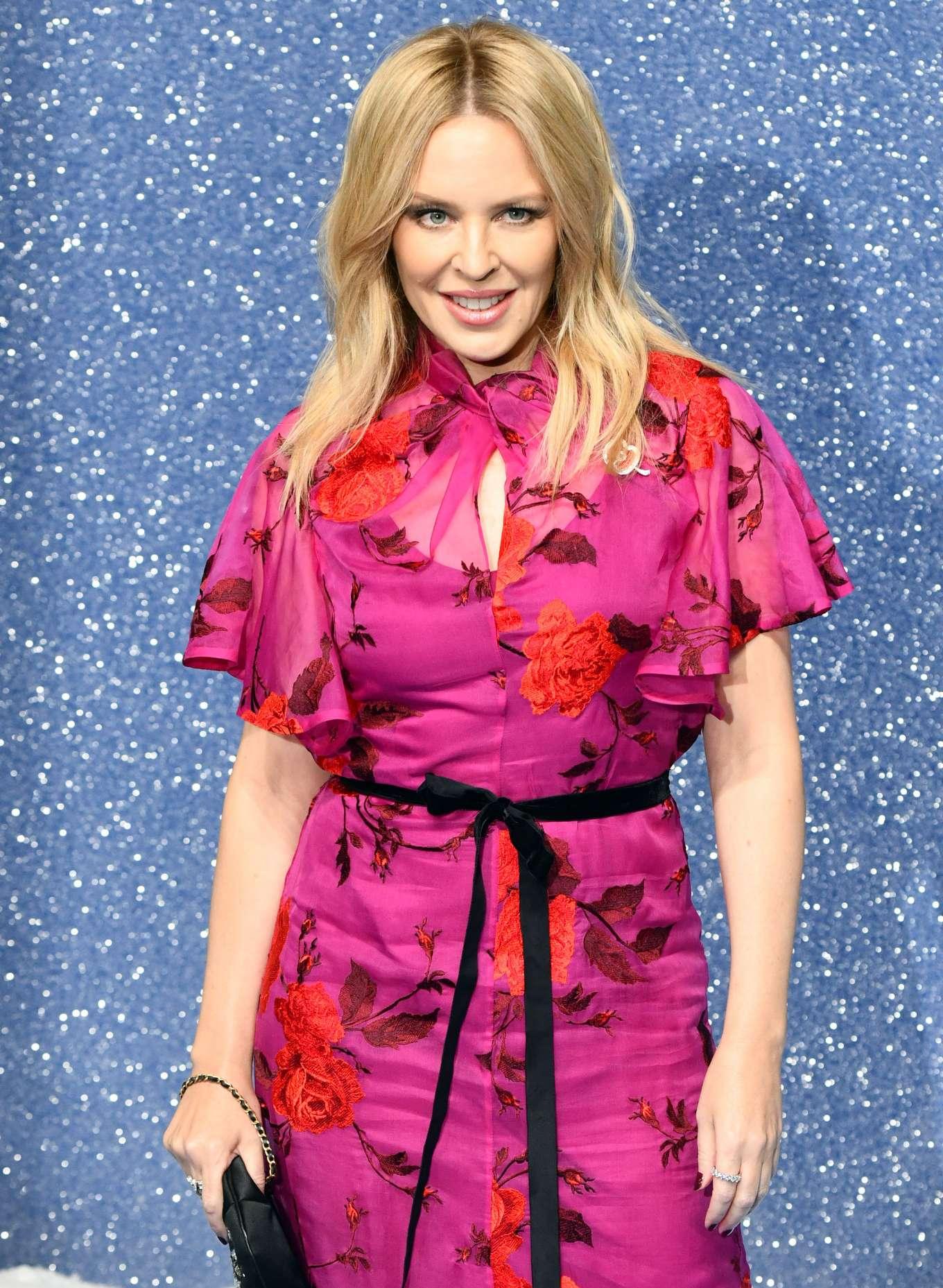 Kylie Minogue 2019 : Kylie Minogue – Last Christmas Premiere in London-05