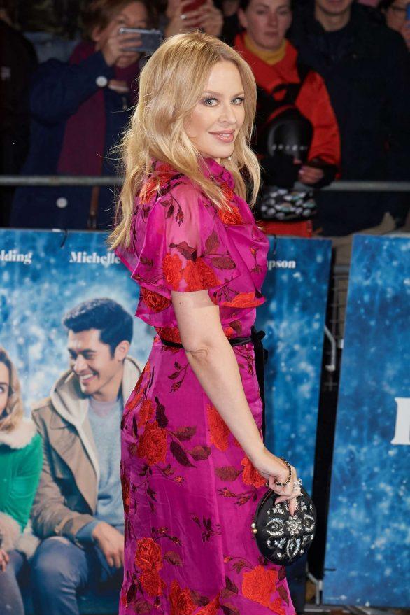 Kylie Minogue 2019 : Kylie Minogue – Last Christmas Premiere in London-06