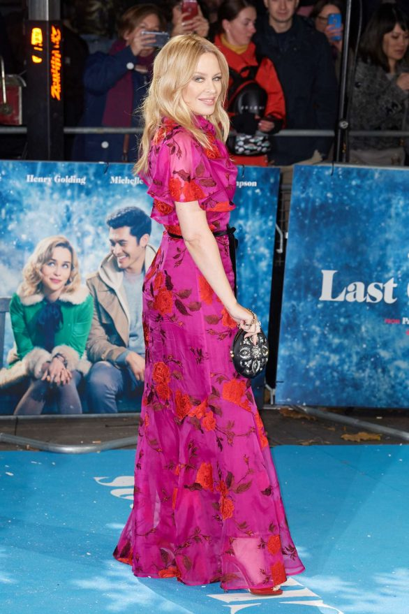 Kylie Minogue 2019 : Kylie Minogue – Last Christmas Premiere in London-08