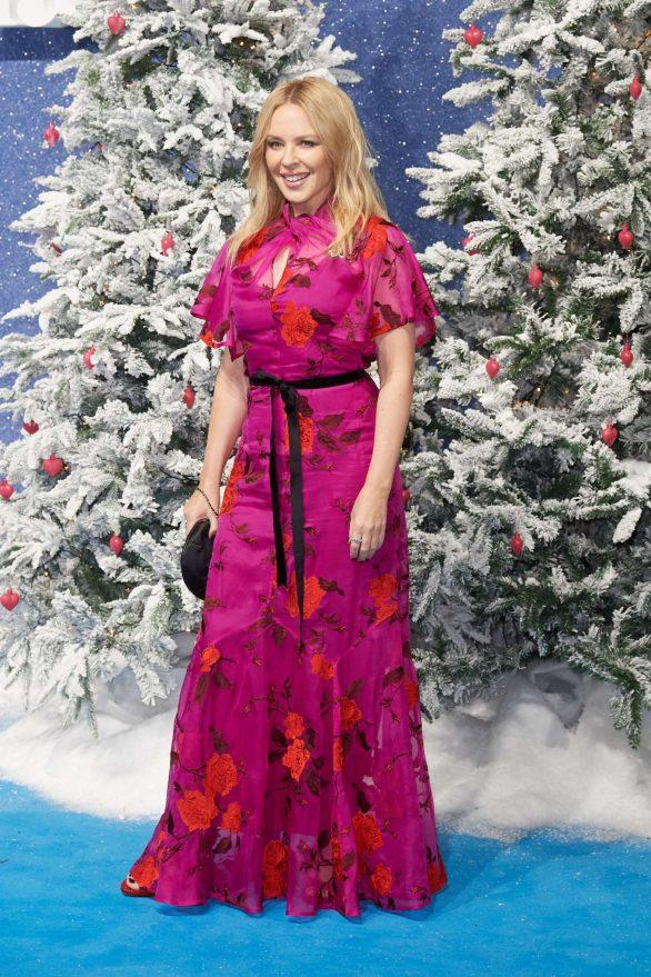 Kylie Minogue 2019 : Kylie Minogue – Last Christmas Premiere in London-10