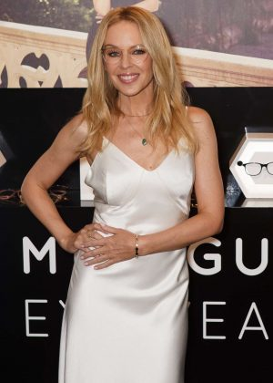 Kylie Minogue Launches her debut eyewear collection in Sydney