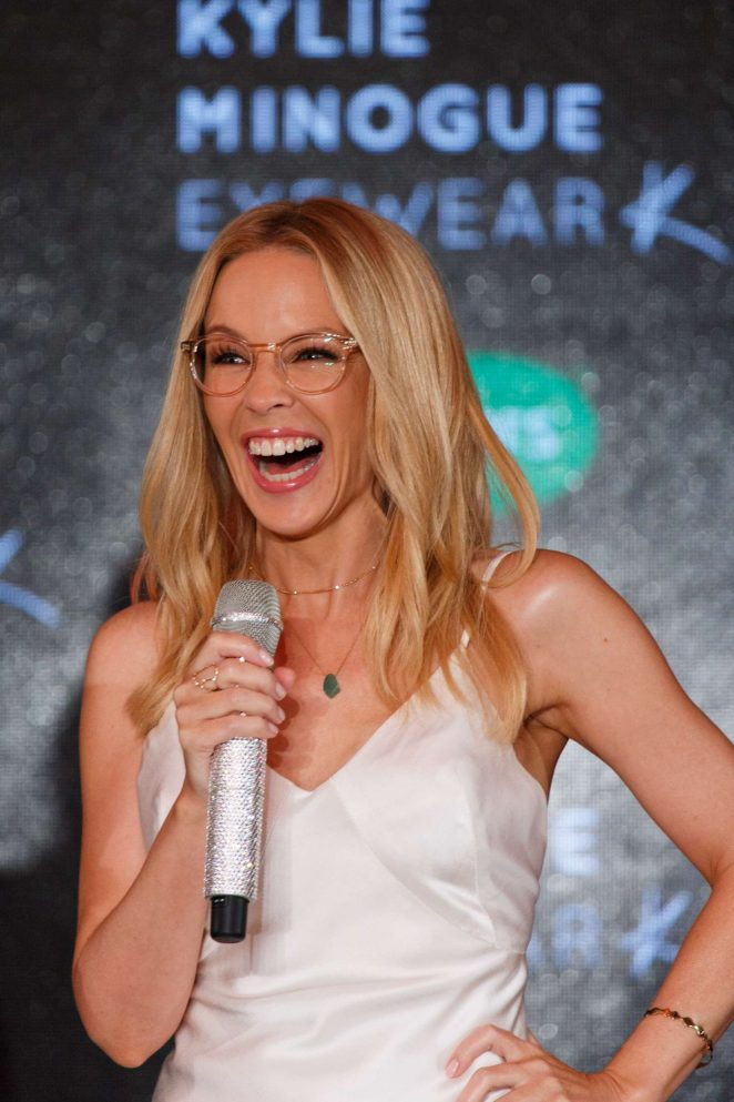 4219e054d59 Kylie Minogue Launches her debut eyewear collection -05 – GotCeleb